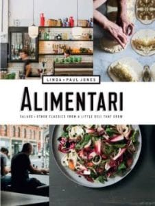 BOOK COVER FOR ALIMENTARI
