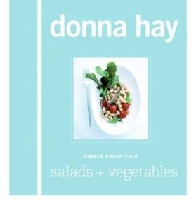 BOOK cover for Donna Hays Salads & Vegetables book