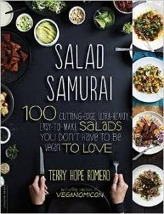BOOK COVER FOR SALAD SAMURAI