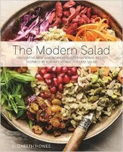 BOOK COVER FOR THE MODERN SALAD