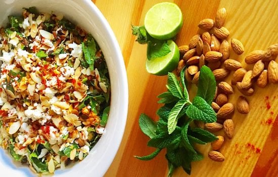 Moroccan Chickpea Salad with Sweet Potato