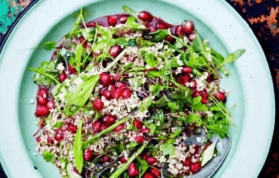 Herb Tabbouleh – aromatic grains…