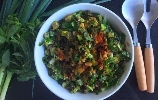 Green Tabbouleh Salad