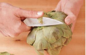 prepare artichokes 09