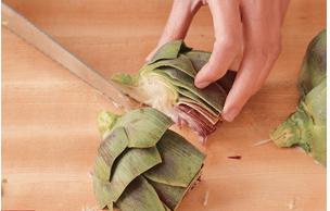 prepare artichokes 11