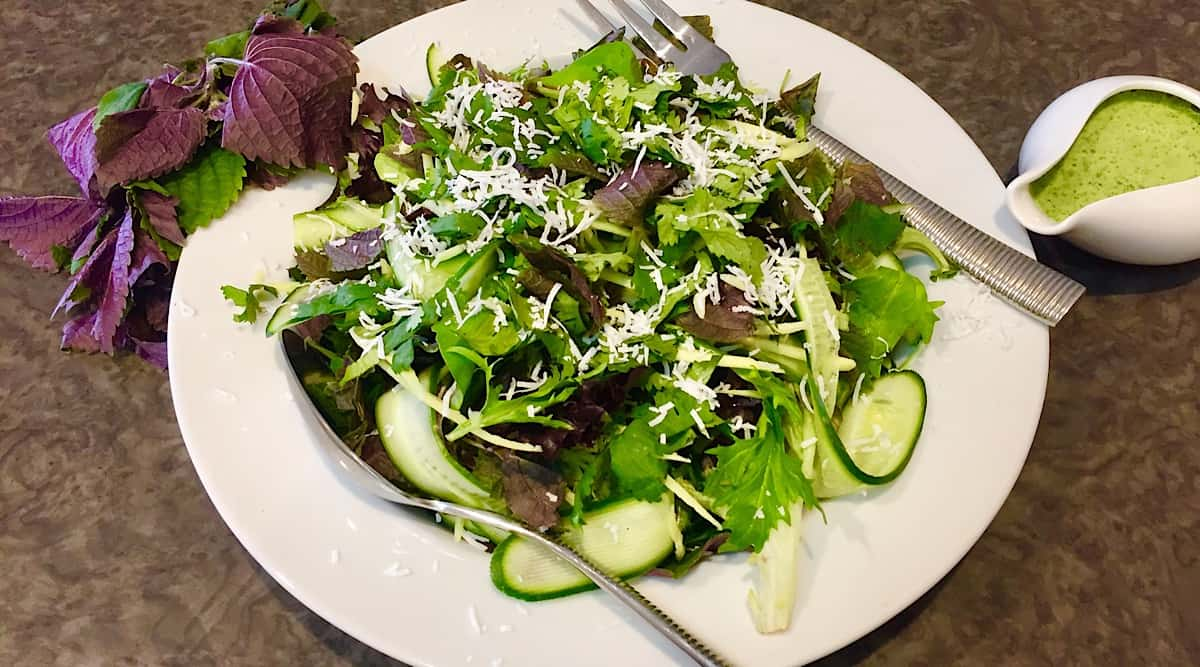 ASIAN PURPLE MINT SALAD