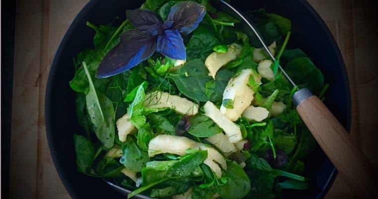Lemon Artichoke Salad with Herbs and Lemon