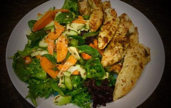 Indian Chicken Salad – just wonderful aromas!