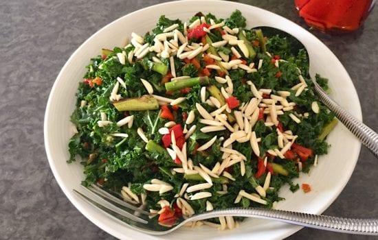 Kale and Asparagus Salad