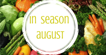 In Season August – healthy winter veg