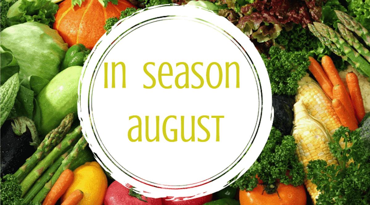 In Season August – healthy winter veg