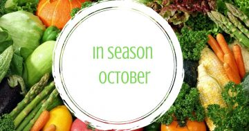 In Season October – your spring vegetable guide