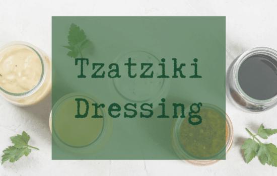 Tzatziki Dressing