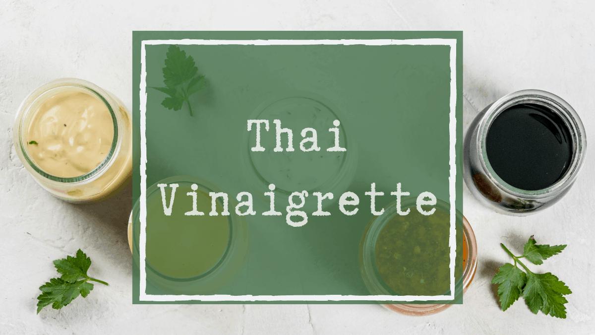 Thai Vinaigrette