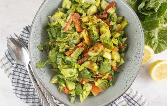 Little Gem Lettuce Salad with Avocado