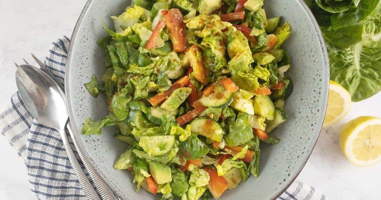 Little Gem Lettuce Salad with Avocado