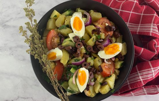 Potato Salad with Egg– a meal in itself
