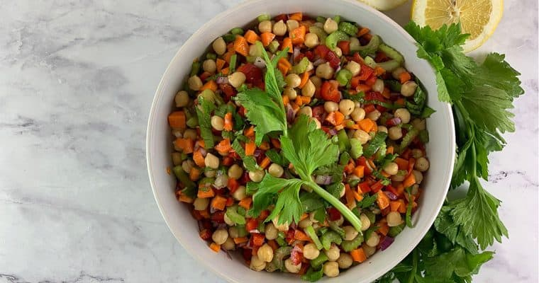 Vibrant Garbanzo Bean Salad