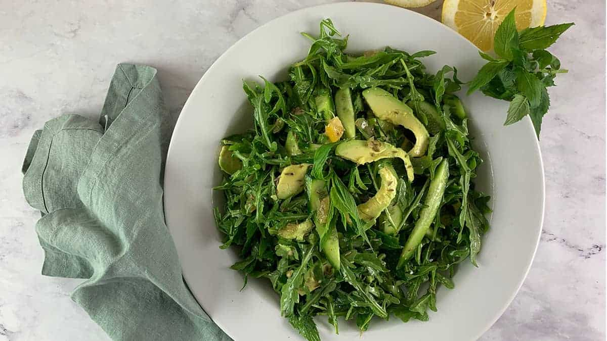 ARUGULA-SALAD-WITH-AVOCADO-&-PRESERVED-LEMON
