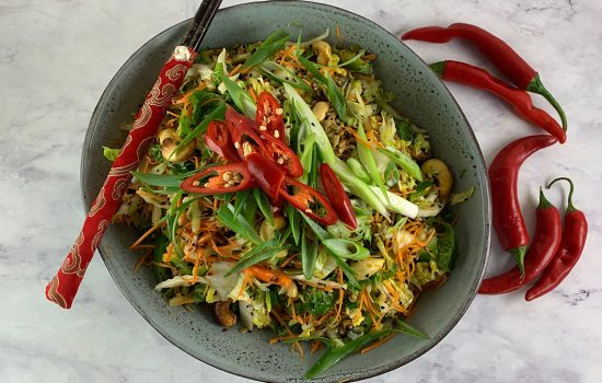A Seedy Chinese Cabbage Salad