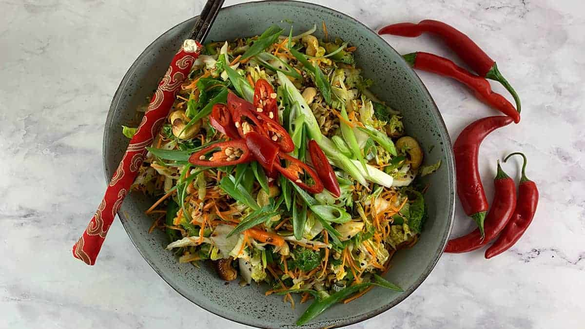 SEEDY CHINESE CABBAGE SALAD