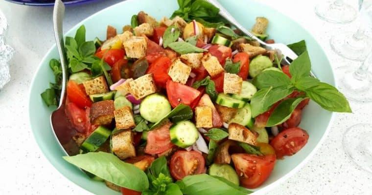 Panzanella – Italian Bread Salad