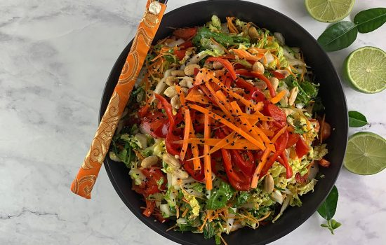 Tasty Thai Asian Slaw – full of umami!