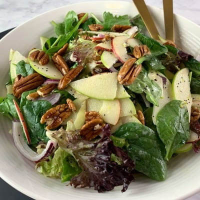 APPLE PECAN SALAD LANDSCAPE