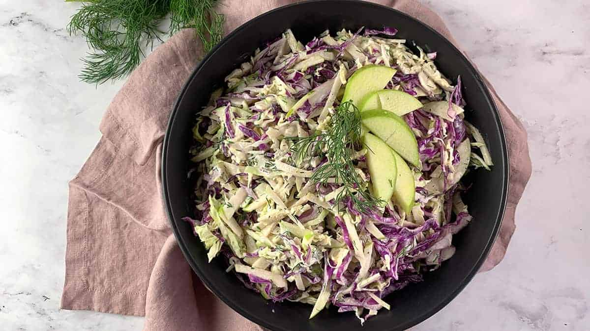 APPLE-SLAW LANDSCAPE