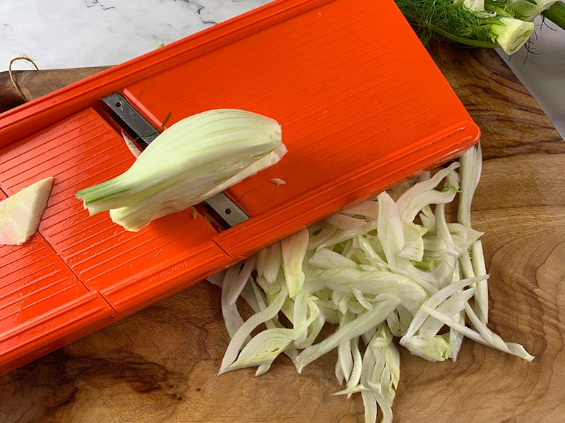 E-SLICING FENNEL ON-V-SLICER