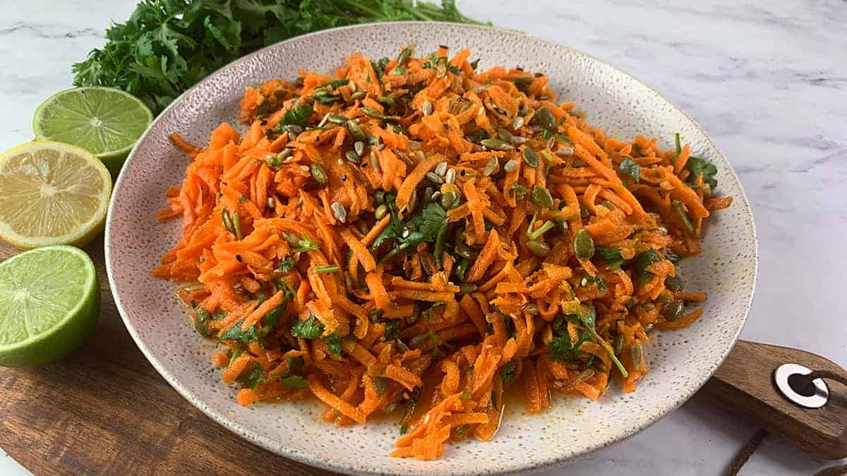 SHREDDED CARROT SALAD LANDSCAPE