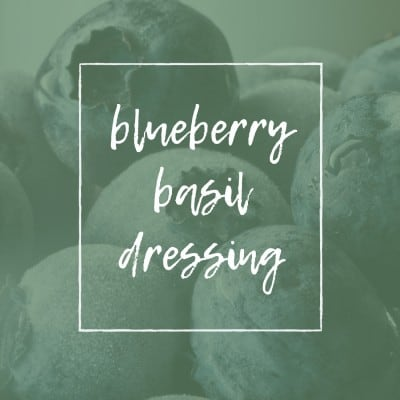 TITLE BLUEBERRY DRESSING