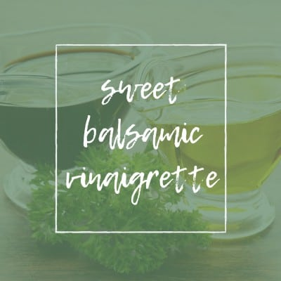 TITLE PAGE FOR SWEET BALSAMIC