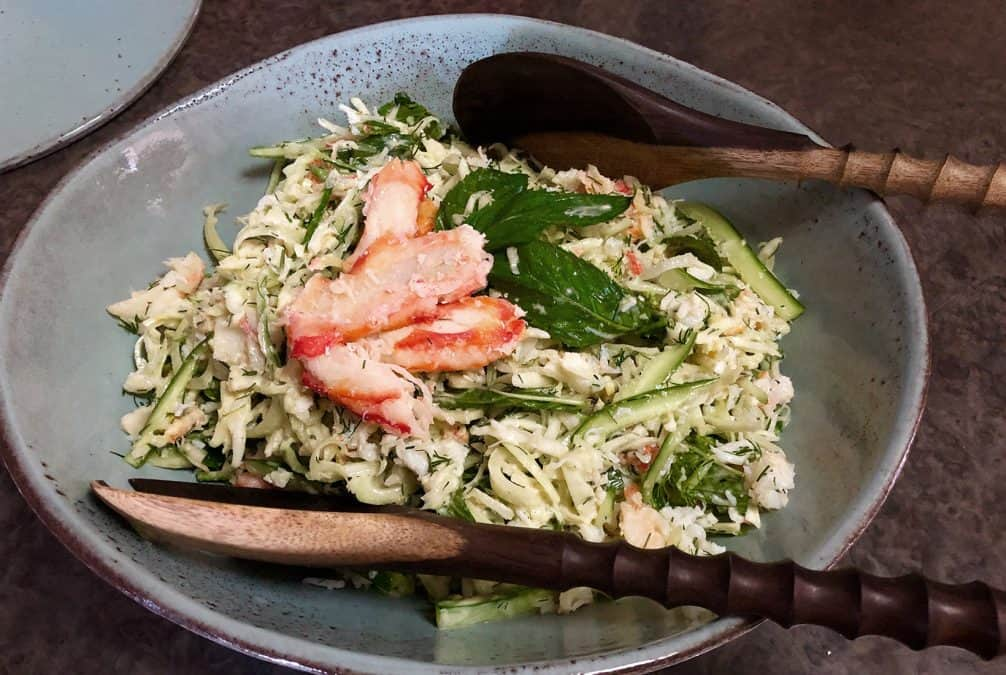 CRAB MEAT SALAD FEATURED IMAGE