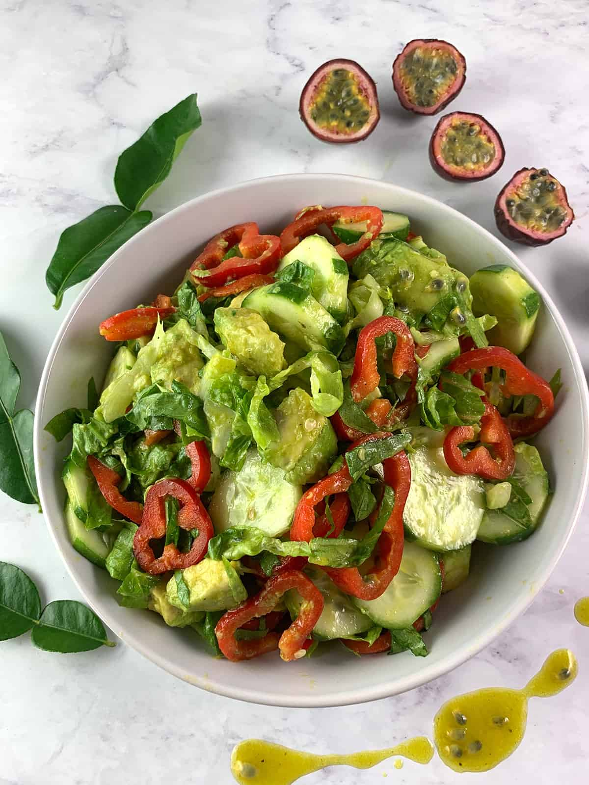 GREEN SALAD WITH PASSIO