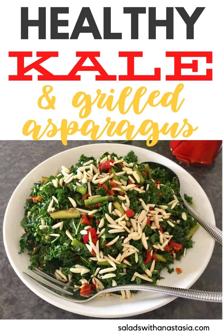 HEALTHY KALE & GRILLED ASPARAGUS PIN