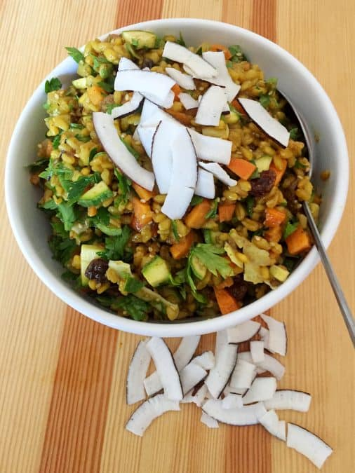 INDIAN BROWN RICE SALAD