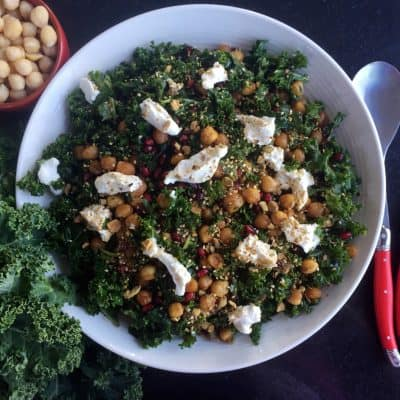 MASSAGED KALE SALAD FEATURED IMAGE