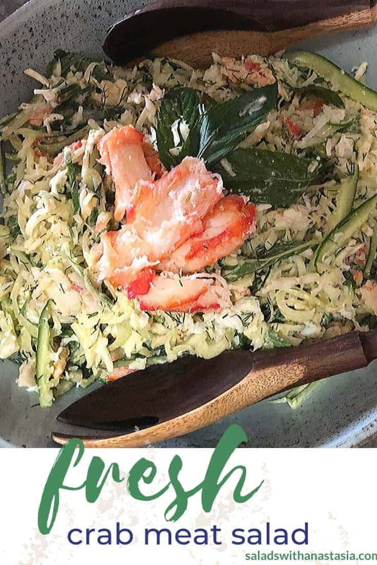 PINTEREST - CRAB MEAT SALAD WITH FENNEL & HERBS