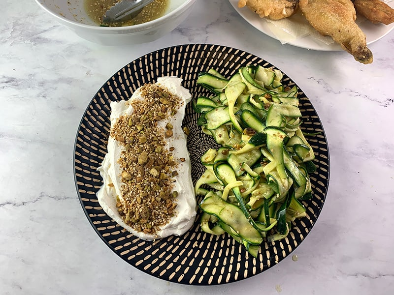 23-ADDING-ZUCCHINI-RIBBON-SALAD-TO-PLATTER-WITH-LABNEH