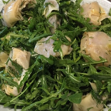 FRESH ARTICHOKE SALAD