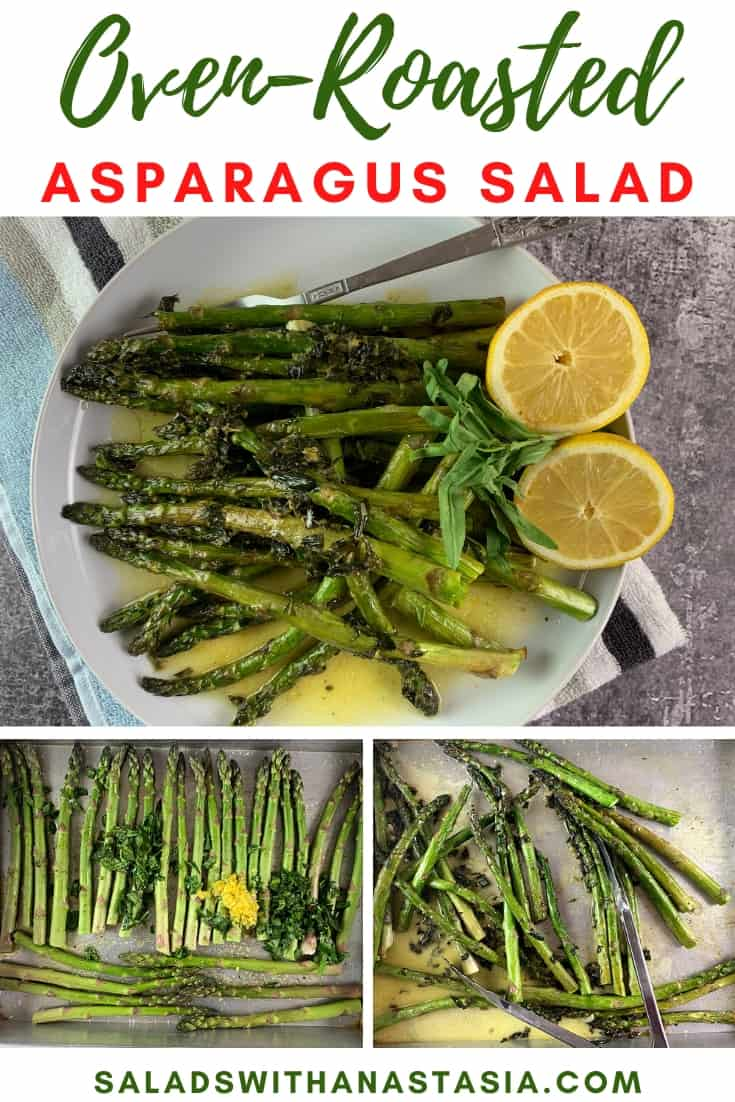 PINTEREST - OVEN RAOSTED ASPARAGUS