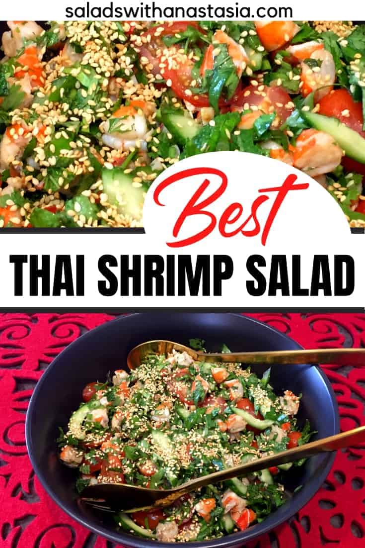 PINTEREST - THAI SHRIMP SALAD