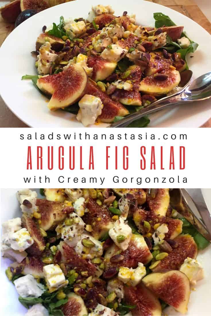 PINTEREST - ARUGULA FIG SALAD