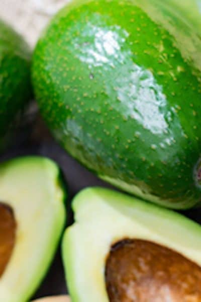 AVOCADOS WHOLE AND HALF