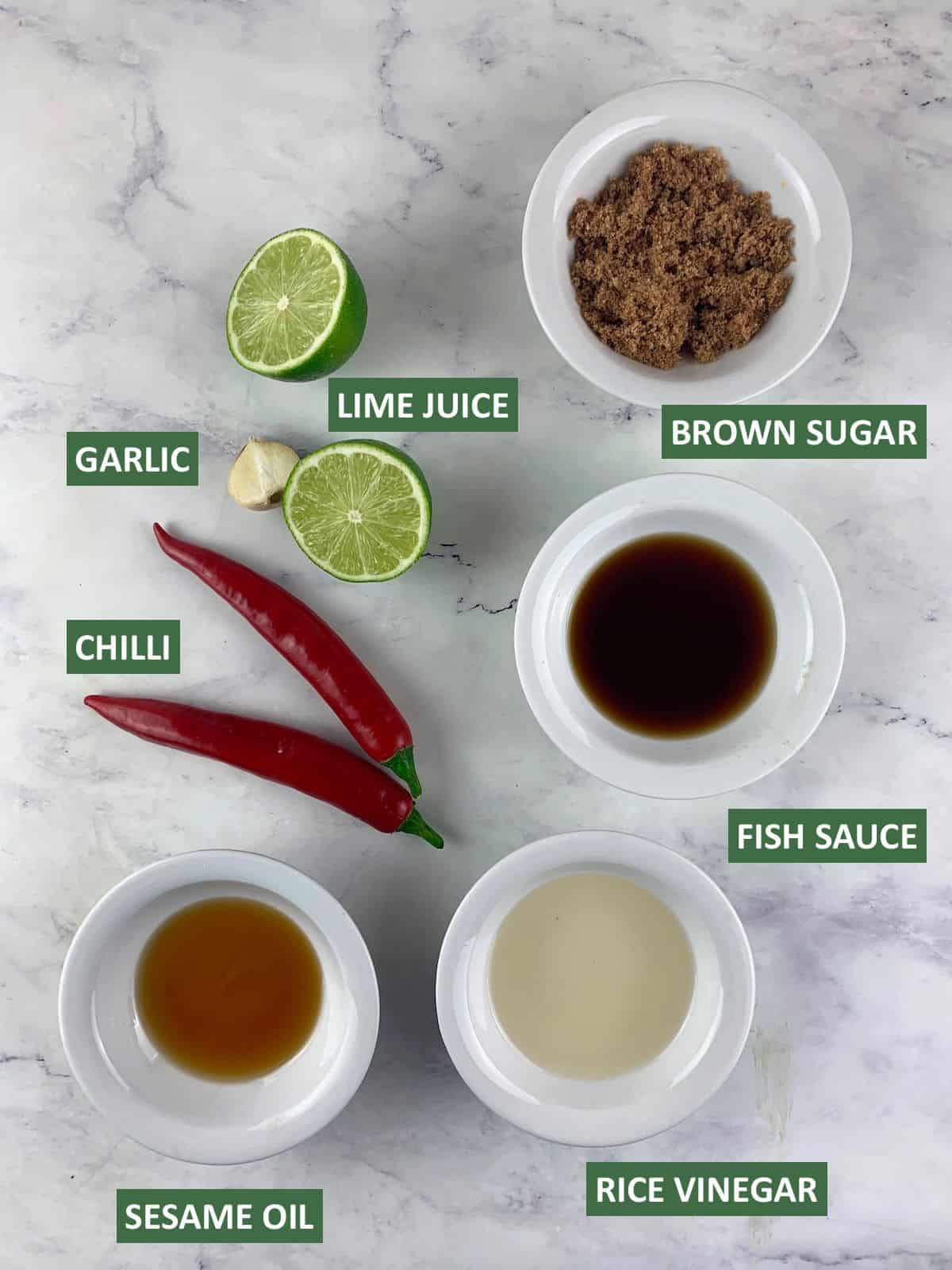 VIETNAMESE SALAD DRESSING INGREDIENTS WITH TEXT