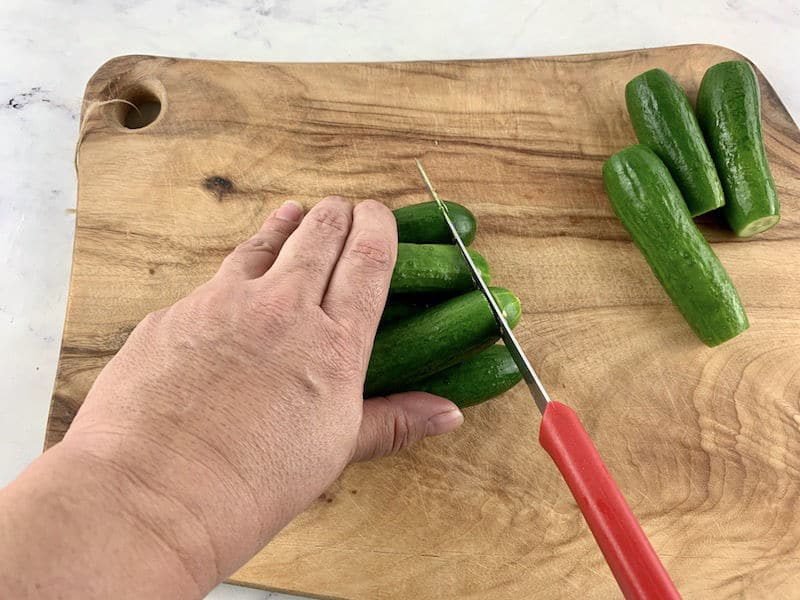 WASH AND TRIM CUKES